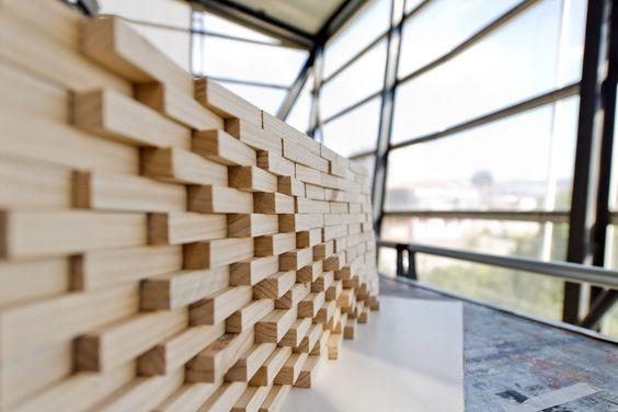 Galería - Estudiantes construyen muros de ladrillo en disposición algorítmica - 10