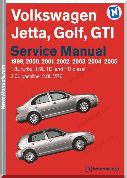 Vw Golf Jetta R32 Factory Service Manual 1999 To 2005 Volkswagen Jetta Volkswagen Vw Jetta