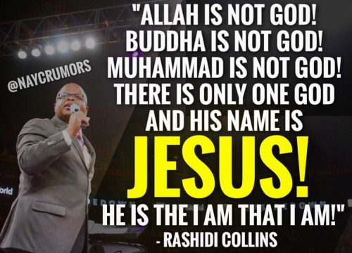 """There Is Only One God And His Name Is Jesus!"""