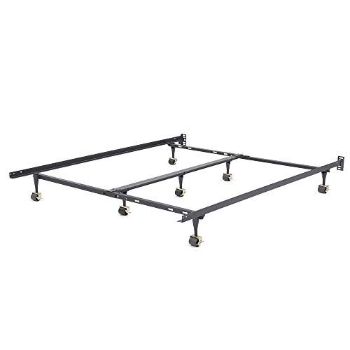 Classic Brands Hercules Universal Heavy Duty Metal Bed Frame Adjustable Width Fits Twin Twin Xl Full Queen King California King In 2020 Metal Bed Frame Metal Beds Bed Frame