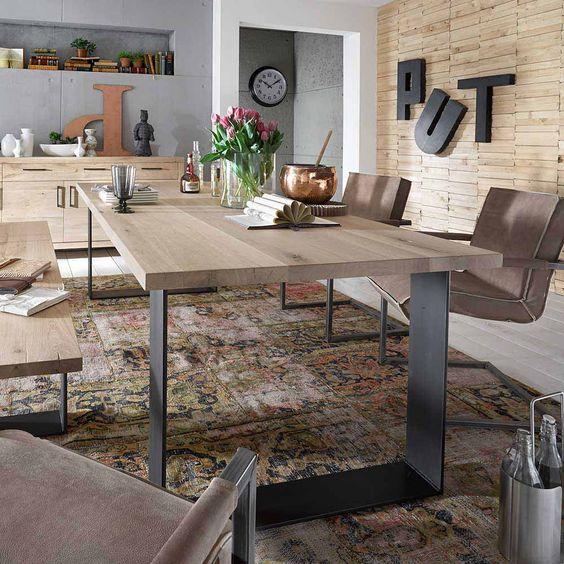 Steinhoff Esstisch, Breite 140 oder 160 cm Jetzt bestellen unter - küchentisch mit stühlen