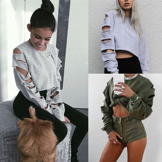 Streetwear Chic Women Autumn Fashion Blouse Loose Long Sleeve Oversize Tops Casual T-shirt Hoodie Pullover