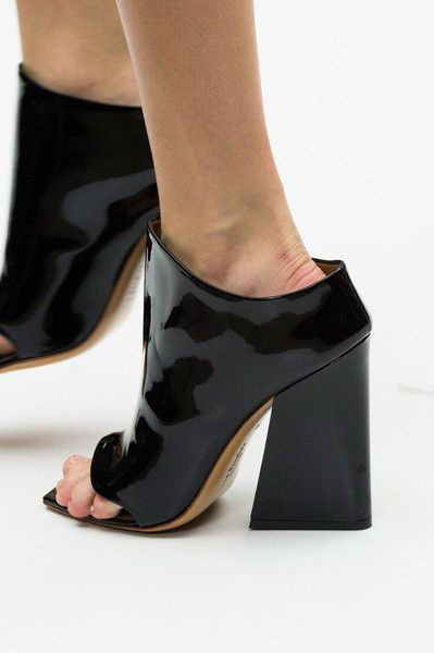 Acne Studios at Paris Spring 2015 (Details) Hey get a load of these clonkers' #Women's clothing/Accessories/Shoes
