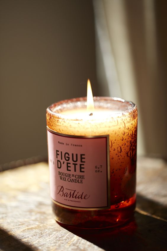 Figue d'été Candle - a beautiful decoration for your wedding venue or gift for your bridesmaids