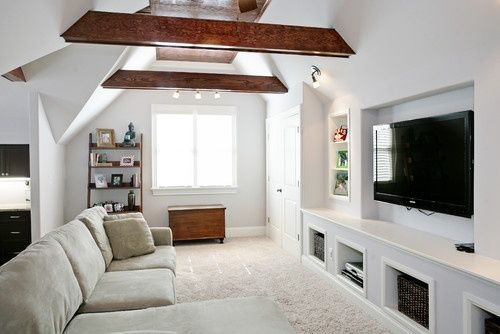 game bonus room decorating ideas | Attic Bonus Room Design, Pictures, Remode<a data-pin-do=