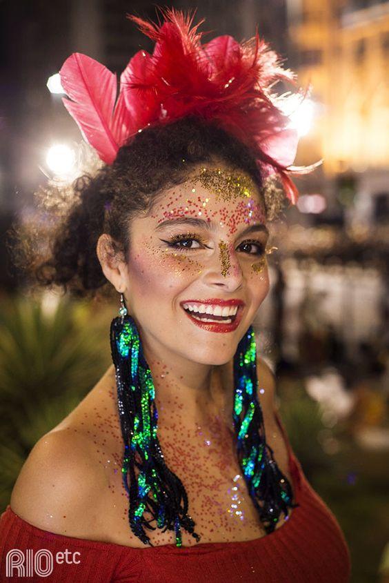 Penteado de carnaval 2020 moderno