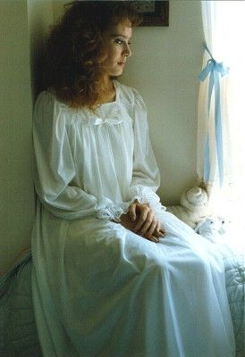 I'm a sucker for old-fashioned nightgowns. This one ...