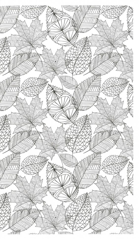 zen coloring nature adult coloring book printables in black white pinterest beautiful. Black Bedroom Furniture Sets. Home Design Ideas