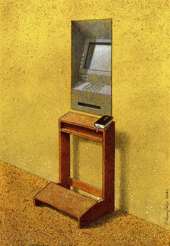 Pawel Kuczynski is a polish artist specializing in thought provoking illustrations.
