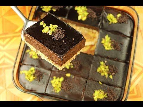 اروع حلى بارد بالشوكولاته بدون بيض ولا فرن حلويات باردة سهلة وسريعة مع نسرين Youtube Desserts Food Breakfast