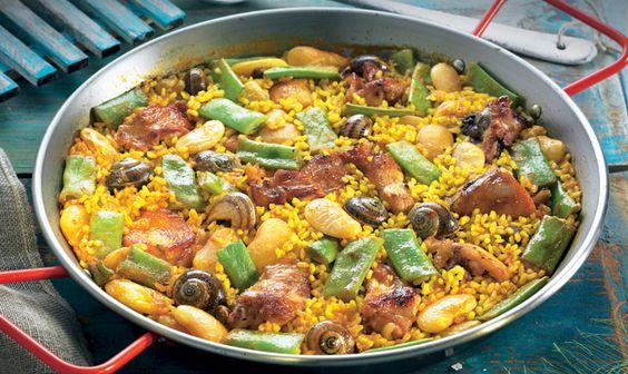Cocina tradicional: ¿sabes qué ingredientes incluye la auténtica paella valenciana
