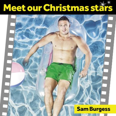 Captain of the South Sydney Rabbitohs, Superstar Sam Burgess has also represented his home country, Great Britain in rugby league.