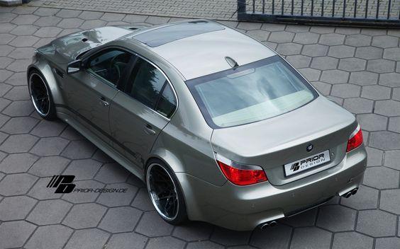 PRIOR-DESIGN PDM5 Widebody Aerodynamic-Kit for BMW 5-Series [E60] - PRIOR-DESIGN Exclusive Tuning