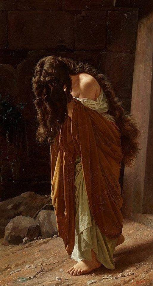 Antonio Ciseri, fue un pintor italiano-suizo. 1821 - 1891.