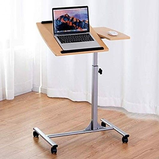 Adjustable Laptop Desk With Stand Holder And Wheels Adjustable Laptop Table Laptop Desk Adjustable Height Table