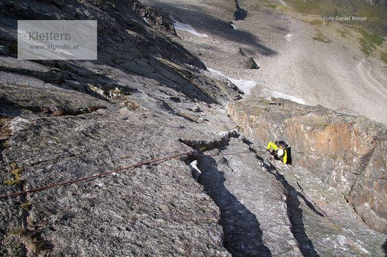 Klettern im Nationalpark Hohe Tauern mit dem Bergführer von Alpindis.at, Obersulzbachtal, Keeskogel