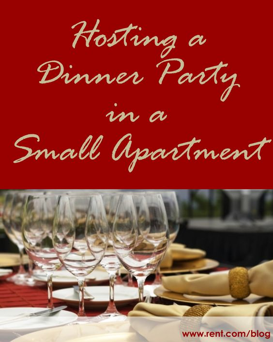Dinner Parties Give Up On And Tiny Spaces On Pinterest