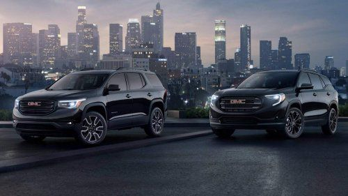 2019 Gmc Acadia And 2019 Gmc Terrain Gain Black Editions For Nyias
