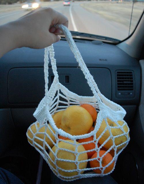 Orange bag crochet holder free pattern, thanks so xox
