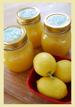 Alton Brown's Recipe for Lemon Curd This is a very easy recipe with lots of flavor and not much work. I am putting it in between my cake layers for Easter.:
