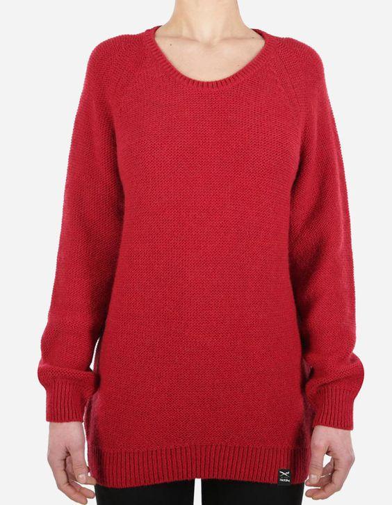 iriedaily - Jazzie Knit carmine red