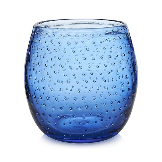 Pop Blue Hurricane | Crate and Barrel