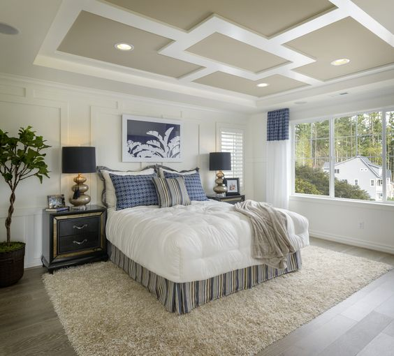 A Peaceful Master Bedroom. (Toll Brothers At Parkhurst, WA
