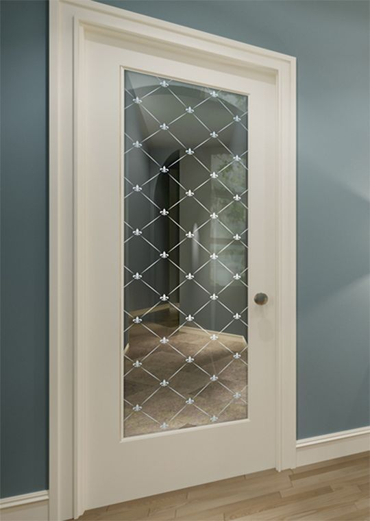 Fleur Diamonds 1d Positive Frosted Interior Glass Door In 2020 Glass Doors Interior Glass Door Frosted Glass Door