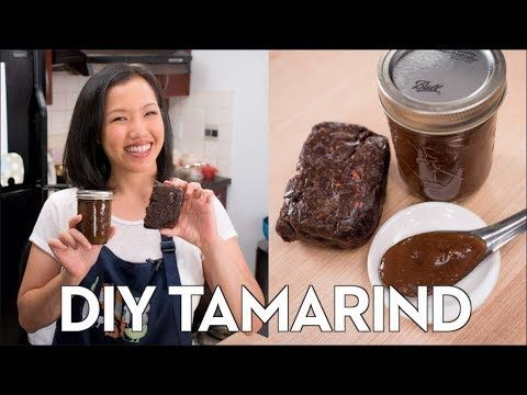 How To Make Tamarind Paste From Pulp Hot Thai Kitchen Tamarind Tamarind Paste Thai Cooking