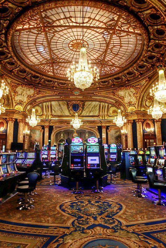 Inside Monte-Carlo Casino in Monaco. Isnt it just gorgeous?
