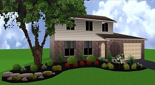 Landscape designs for front of house house front - Landscape in front of house ...