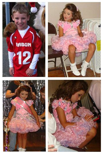 Pageant Makeover. He won.