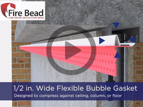 Fire Bead Fire Rated Deflection Protection In 2020 Trim Tex Beads Fire