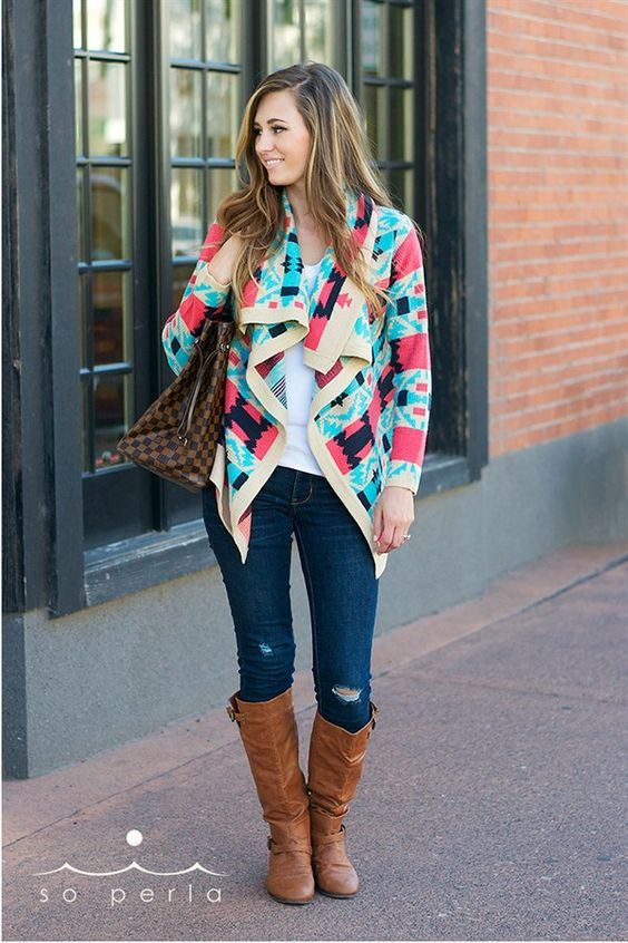 $32.99 | High Quality Tribal Cardigan | Shop this women's boutique deal on Jane.com