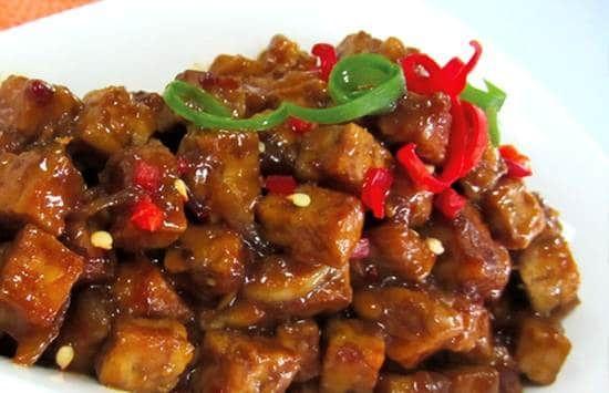 Resep Tumis Tempe Bumbu Kecap Resep Tempe Recipe Fusion Food Food Recipes