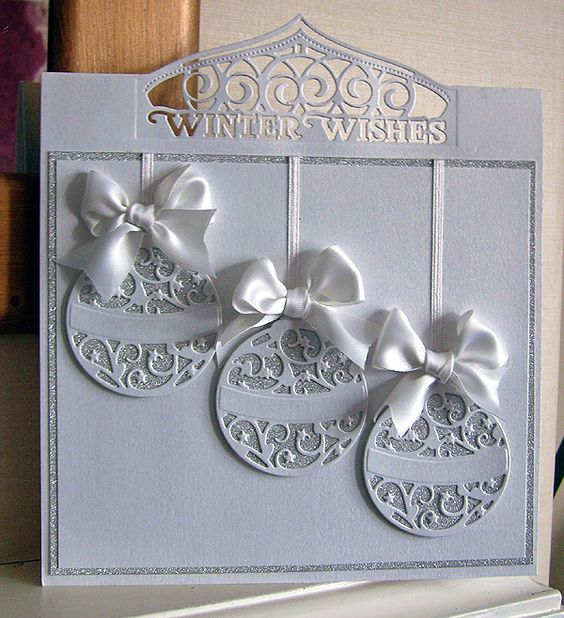 Blog tonic: Winter Wishes Baubles - a card from Karen