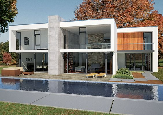 Nice home and prefab homes on pinterest for Ultra modern modular homes