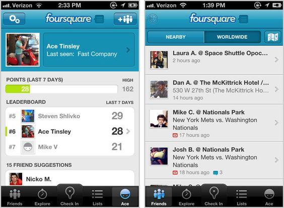 Old foursquare