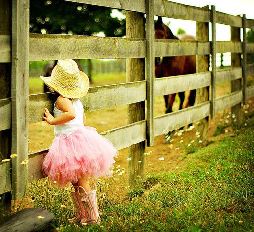 Little cowgirl!!