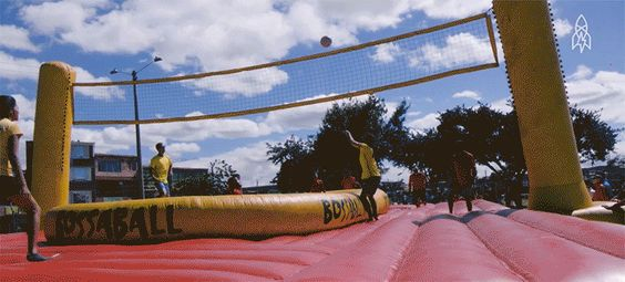 Bossaball Is the Coolest Sport You've Never Heard Of
