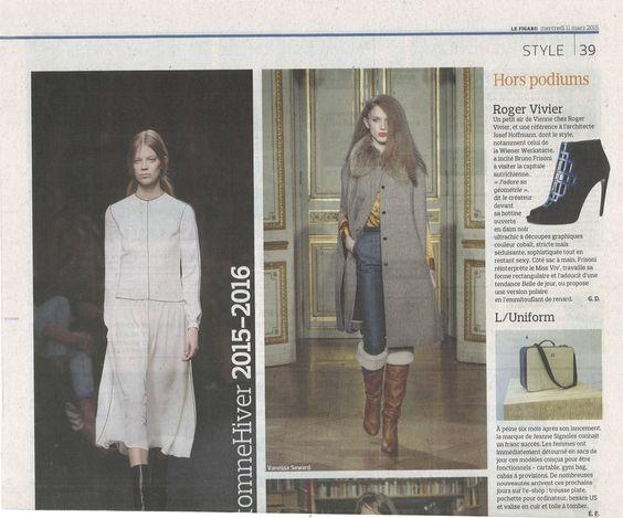 Le Figaro et Vous - 11 Mars 2015 - L/UNIFORM