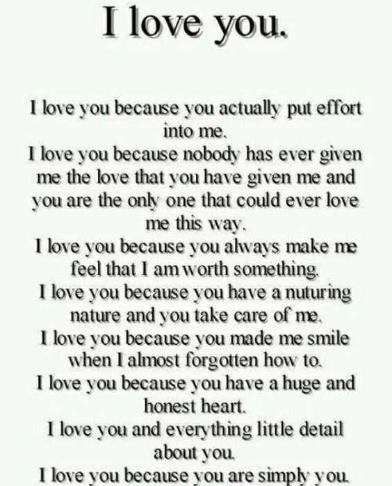 A Paragraph About How Much I Love My Girlfriend