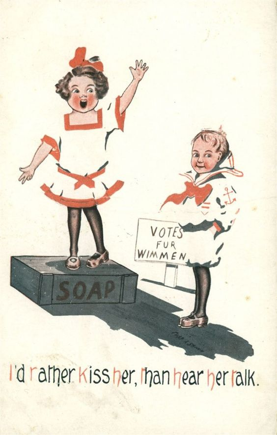 16 Ridiculous Vintage Posters Warn Men About The Dangers Of Women's Rights – How Far We've Come