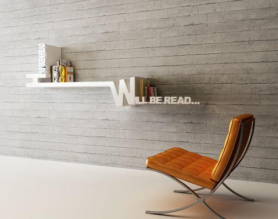 bookshelf that inspires reading