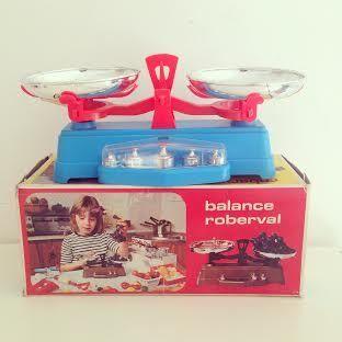 Image of Balance Roberval Mob Vintage