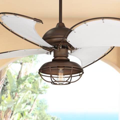 52 Cool Vista Bronze Outdoor Ceiling Fan W Light Kit 57t34 Lamps Plus Outdoor Ceiling Fans Ceiling Fan Coastal Ceiling Fan Outdoor ceiling fan light kit