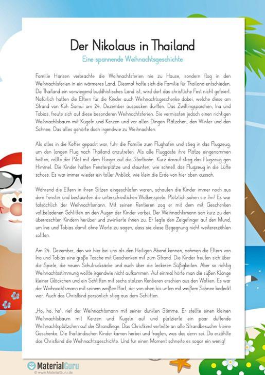 Spannende Weihnachtsgeschichte Weihnachtsgeschichte Lernen Weihnachten In Deutschland