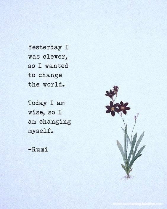 #Rumi #Quotes & #Soulful #Inspirational #Affirmations from Awakening-Intuition.com - Click above Link to view a Collection of #Positive #Life #Motivational #Sayings