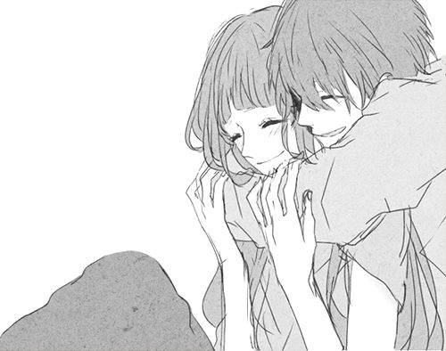 Anime Characters Hugging : Pinterest the world s catalog of ideas