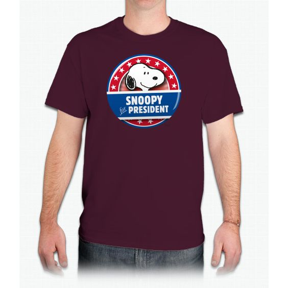 Peanuts Snoopy For President Tee Ultra Cotton™ T-Shirt